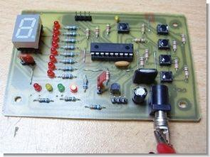 PIC16F628 Experiment Board Project