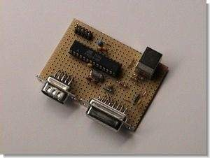 USB Joystick Converter for Atari,  Amiga, Commodore 64