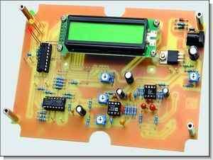 Audio Signal Measurement Digital   Millivolts Meter Circuit PIC16F88