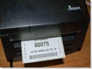PicBasic Q-matic Circuit Printout PIC18F452 Thermal Printer