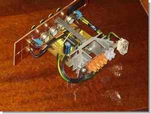 TDA1554Q Car Amplifier Circuit  LM1036  Tone Controlled