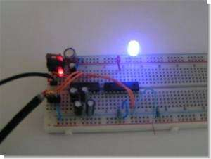 Computer-Controlled Programmable RGB LED Driver PIC16F628 PWM