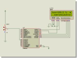 Atmel ATmega  Projects  Thermometer  LM35, Display, Keypad