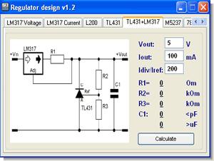 Voltage Regulator Calculator - Electronics Projects Circuits