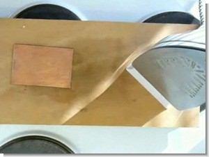 PCB Using Laser Toner Transfer Ironing Printed Circuit Board