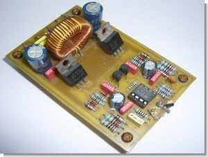 100W Class D amplifier Circuit Mosfet IRFP9540 IRF540 - Electronics