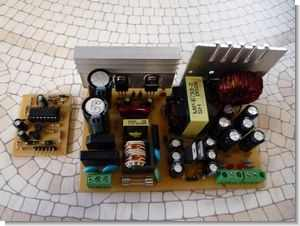 Modified ATX Power Supply Half Bridge SMPS Project TL494 EI33