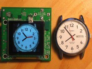 AT91SAM7S64  Arm7 Clock Circuit  DS3234s Oled Led Display