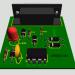 RS232 24CXX Series eeprom Programmer Circuit PCB