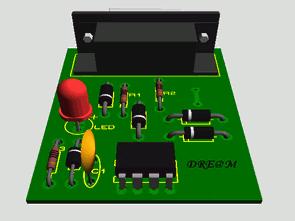 RS232 24CXX Series eeprom Programmer Circuit PCB - Electronics