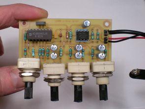 Audio Signal Generator Circuit ICL8038 20Hz to 20kHz