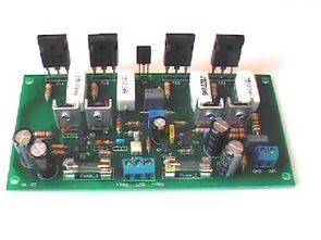 MOSFET 400W Stereo Power Amplifier Circuit irfp9240 irfp240 Proteus isis