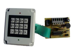 Combination Lock Circuit PIC16F628 Hi Tech C