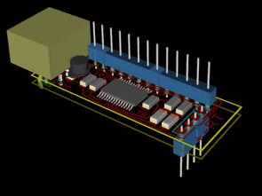 USB to RS232 Converter Circuit FT232RL