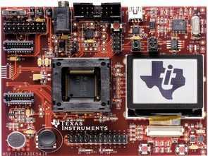 MSP430F5438 Development Board PCB MSP430 Example