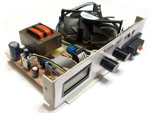 Active Electronic Load Circuit ATmega88 100w Dummy Load
