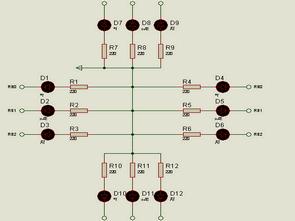 Traffic Light Circuit Hi Tech C Example
