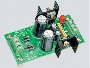 15V Symmetrical Power Supply Circuit 7815 7915