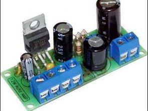 TDA2003 amplifier circuit