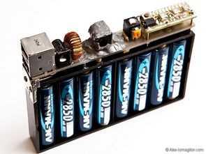 USB Battery Pack DC to DC 5V LM2678 Converter LM3914 Voltmeter