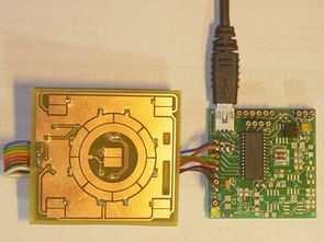Winamp Touch Sensor Interface AD7142ACPZ USB HID  PIC18F2550