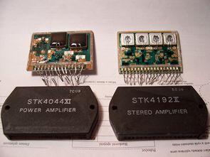 Sanyo STK Amplifier Schematics