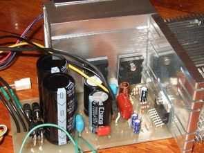 TDA7294 Power Up Transistor Output