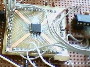 ARM7 Scrolling Led  Circuit LPC2101