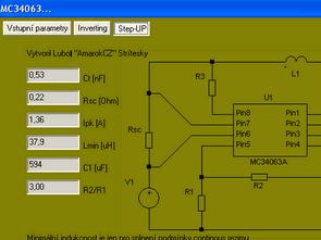 Calculation Program MC34063  IR2153 UC384X