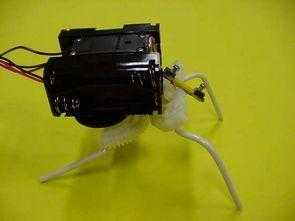 Servo Motor Control 74HCT240  With Simple Bug Robot