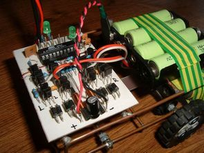 Remote Controlled Robot Circuit RC5 AT90S2313