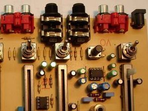 Microphone Input  4 Channel Mixer Amplified Circuit