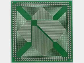 PLCC CQFP DIP Converter PCB