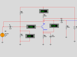 Basic Electronic Circuits with Multisim 10 Examples