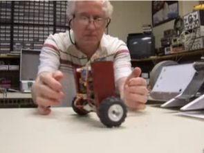 Analog Balance Robot  Circuit LMC660 ADXL105
