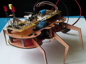 PIC18F46K20 6-Legged Robot Project