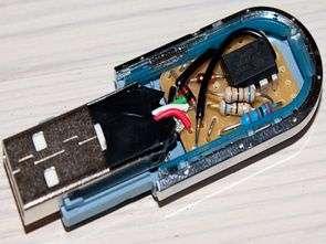 USB Password Generator Circuit ATtiny85