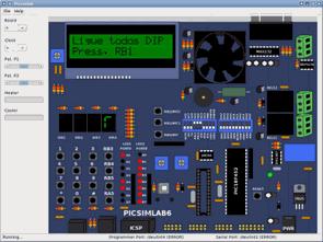 PIC Microcontroller Simulator Program