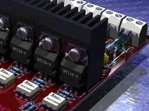 8 Channel Opto Triac Driver Circuit