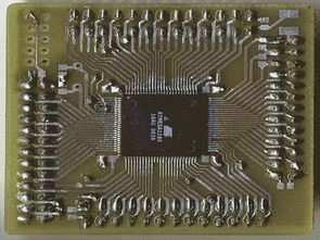 TQFP100 Adapter PCB (Eagle ATmega1280)