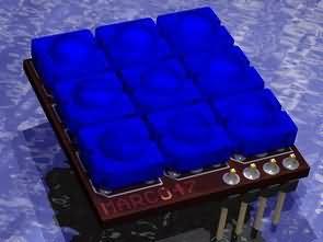 RGB LED Flux  Modul  PCB