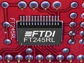 FT245RL USB to LPT Converter Circuit