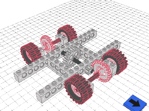 Lego Models For Open-Source Free CAD Program LeoCAD