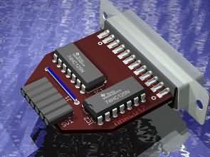 Xilinx JTAG Programmer Circuit DLC5