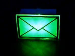 ATmega8 USB Email Notifier Circuit