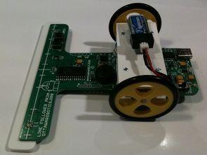 Line following Robot Sumo Robot, control circuits