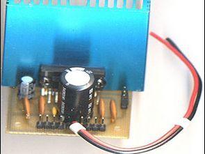 TDA1554 4X11W Amplifier Circuit 2X22 W