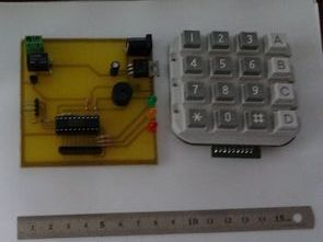 Keypad Combination Lock Using MSP430 Launchpad