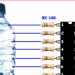 ULN2803 Liquid Level Indicator Circuit