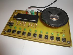 Electronic Piano Using PIC microcontroller (PIC18F4550)